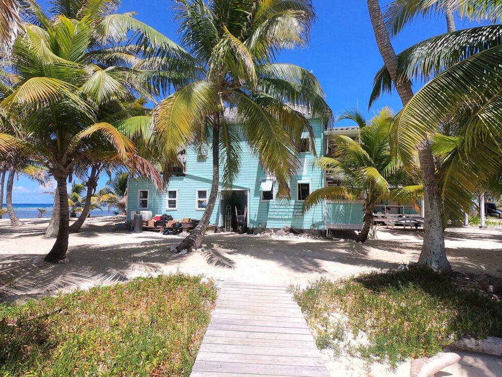 Tobacco Caye Marine Station Carribow and Smithsonian