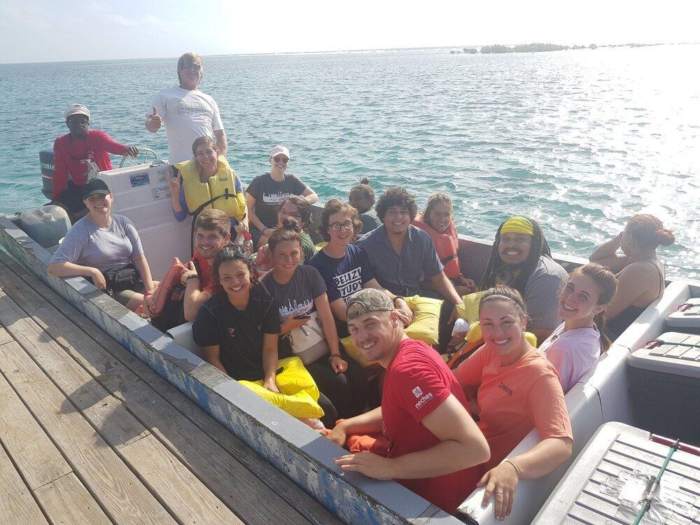 Tobacco Caye Marine Station Excursions